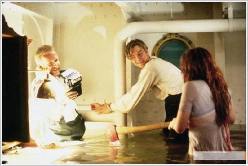 Titanik 50 Как снимали Титаник: редкие фото со съёмок