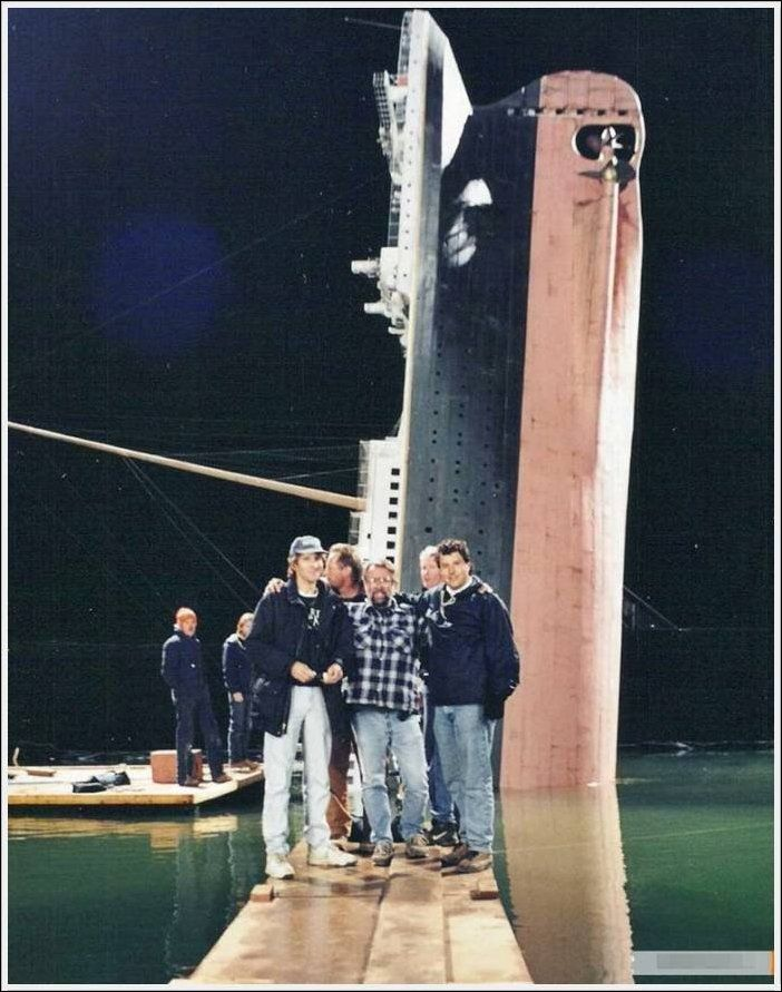 Titanik 6 Как снимали Титаник: редкие фото со съёмок