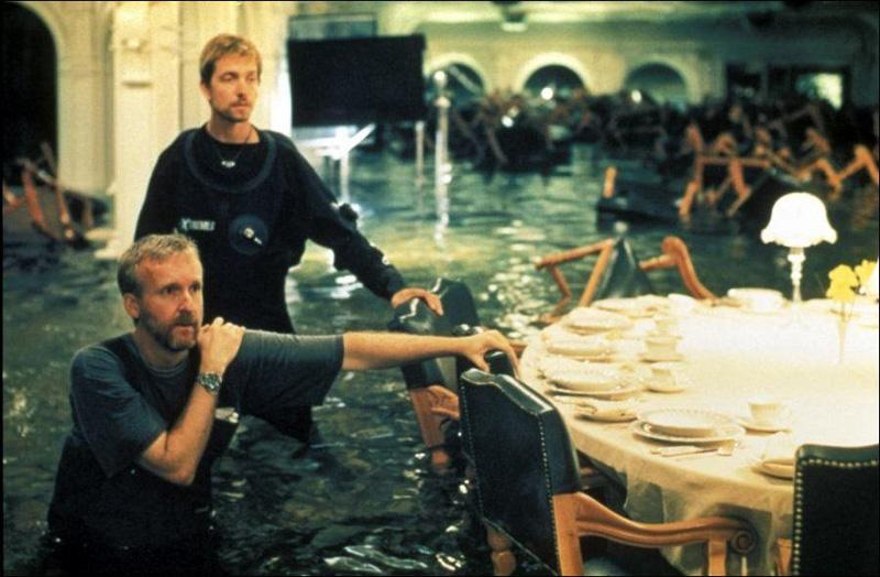 Titanik 7 Как снимали Титаник: редкие фото со съёмок