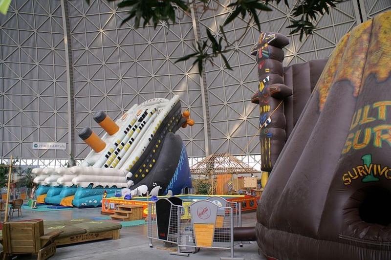 Tropical Island Resort 12 В Германии открыт крупнейший в мире крытый тропический курорт