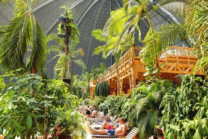 Tropical Island Resort 14 В Германии открыт крупнейший в мире крытый тропический курорт