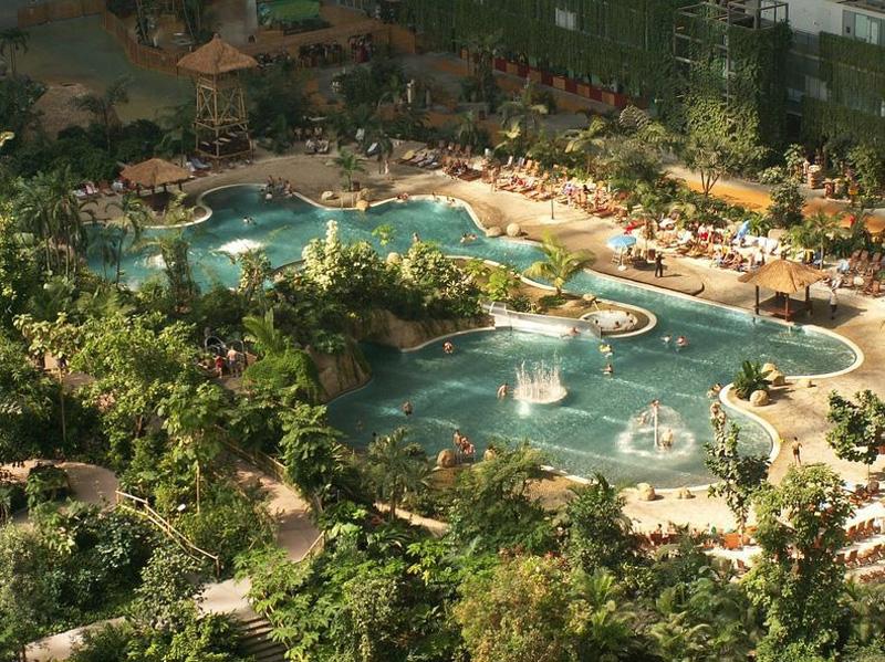 Tropical Island Resort 15 В Германии открыт крупнейший в мире крытый тропический курорт