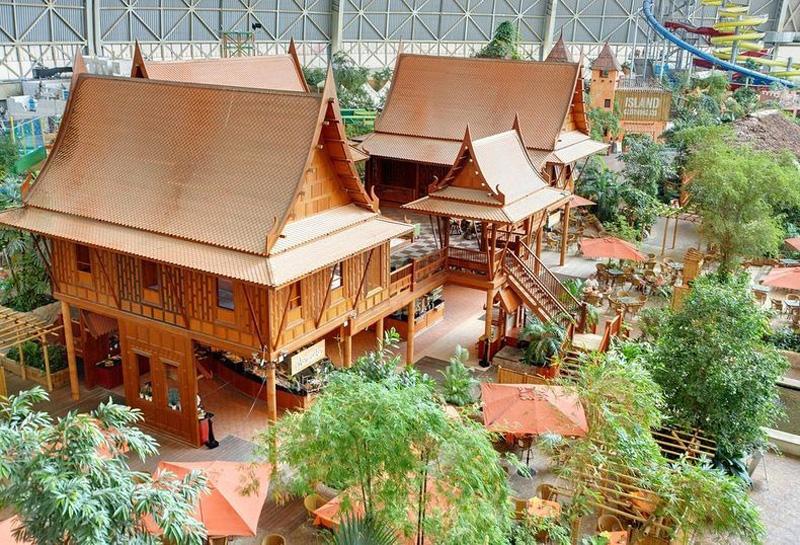 Tropical Island Resort 16 В Германии открыт крупнейший в мире крытый тропический курорт