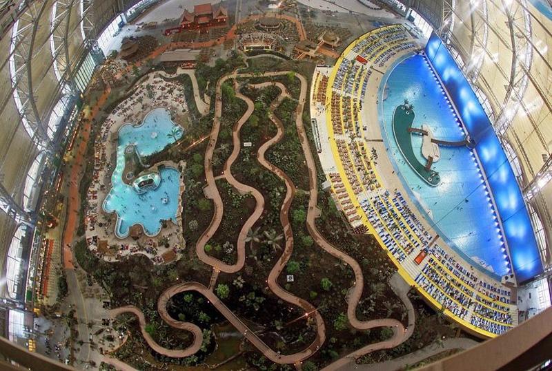 Tropical Island Resort 3 В Германии открыт крупнейший в мире крытый тропический курорт