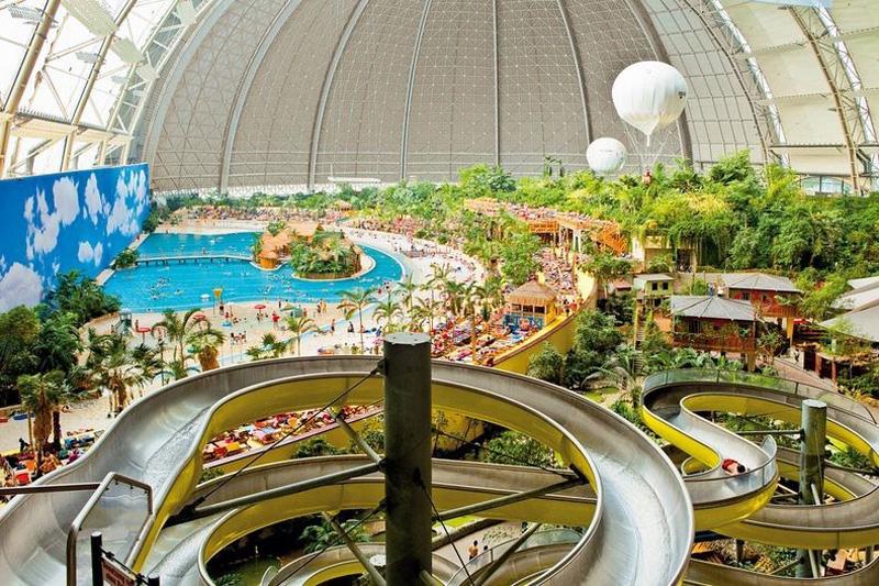 Tropical Island Resort 4 В Германии открыт крупнейший в мире крытый тропический курорт