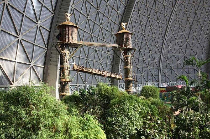Tropical Island Resort 5 В Германии открыт крупнейший в мире крытый тропический курорт