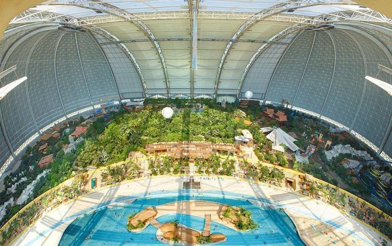Tropical Island Resort 6 В Германии открыт крупнейший в мире крытый тропический курорт