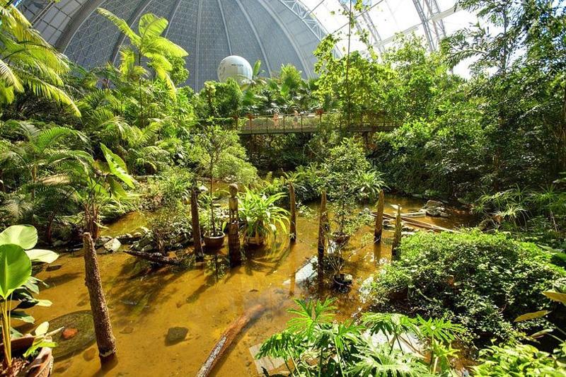 Tropical Island Resort 9 В Германии открыт крупнейший в мире крытый тропический курорт