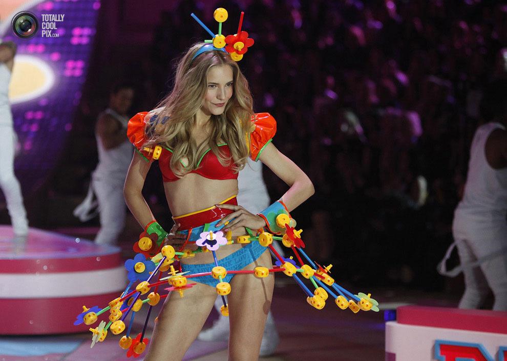 Victoriassecret 21 Модное шоу Victoria's Secret 2012