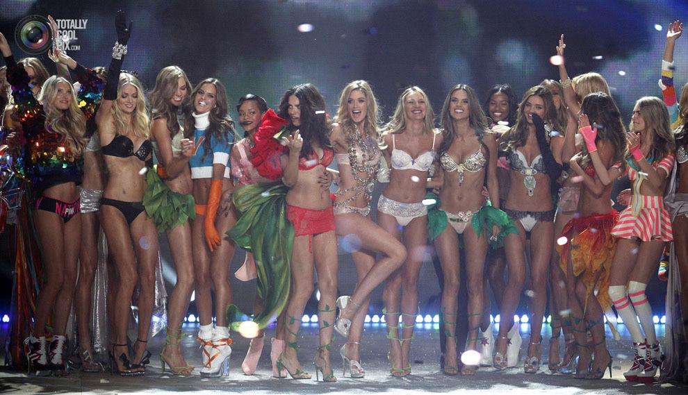 Victoriassecret 43 Модное шоу Victoria's Secret 2012