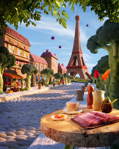 amazing foodscapes 8 Пейзажи из еды