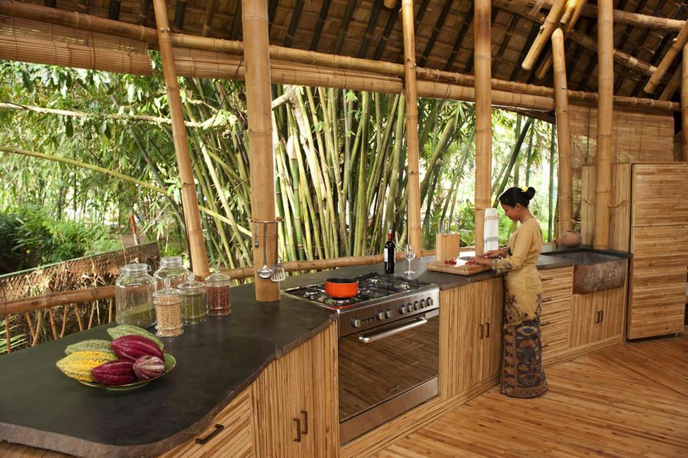 bambukoviotel 12 Бамбуковый отель на Бали
