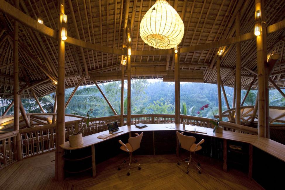 bambukoviotel 13 Бамбуковый отель на Бали