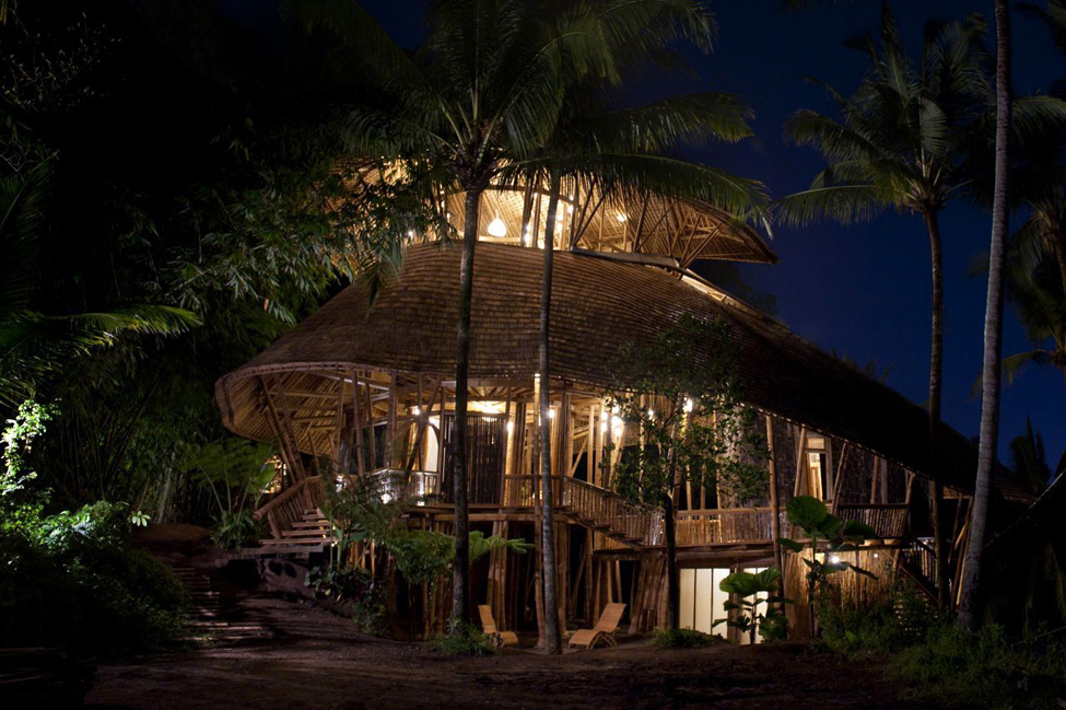 bambukoviotel 15 Бамбуковый отель на Бали