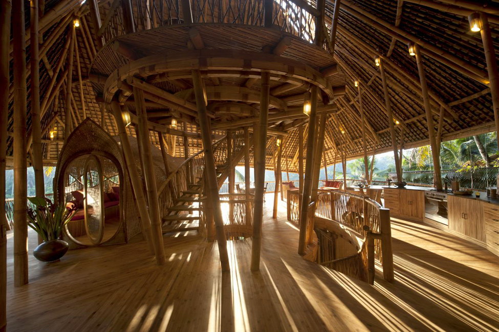 bambukoviotel 2 Бамбуковый отель на Бали