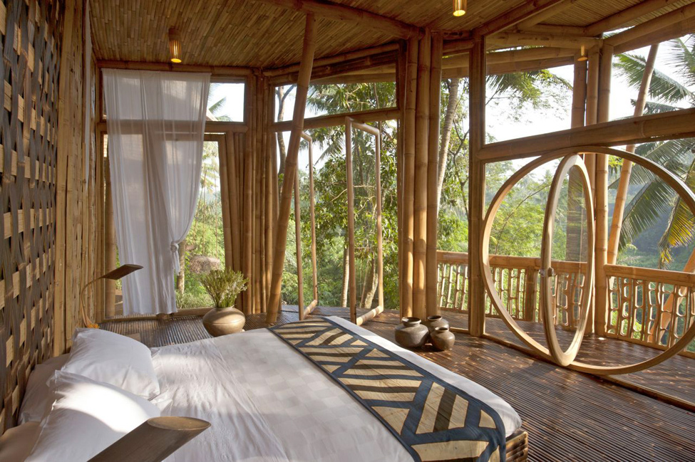 bambukoviotel 3 Бамбуковый отель на Бали