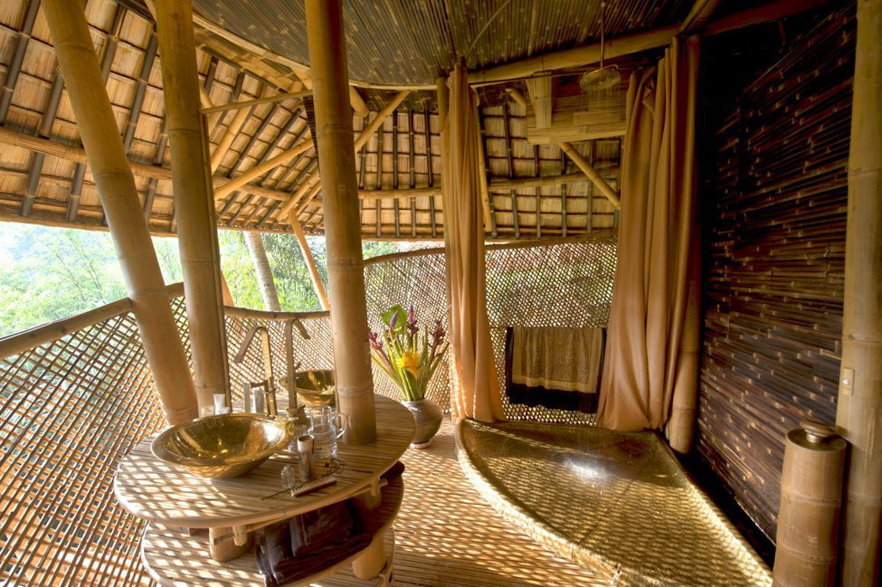 bambukoviotel 4 Бамбуковый отель на Бали