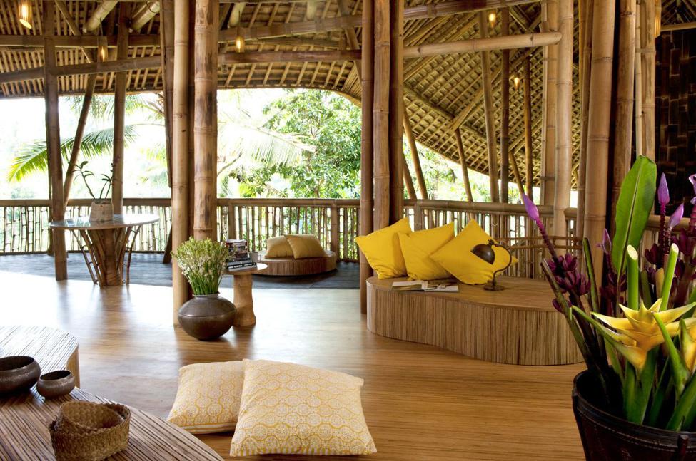 bambukoviotel 5 Бамбуковый отель на Бали