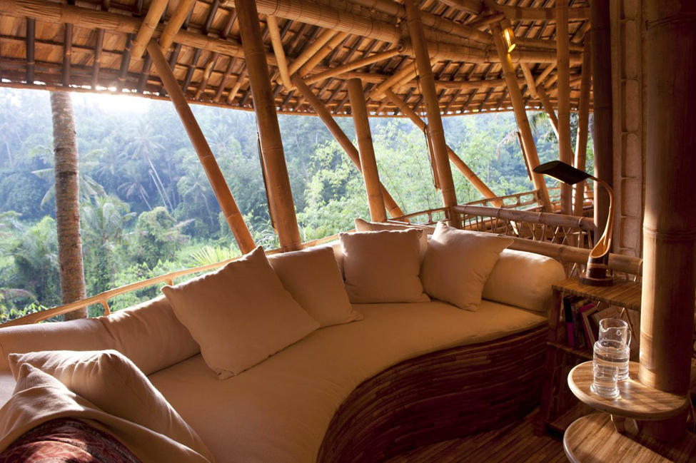 bambukoviotel 6 Бамбуковый отель на Бали