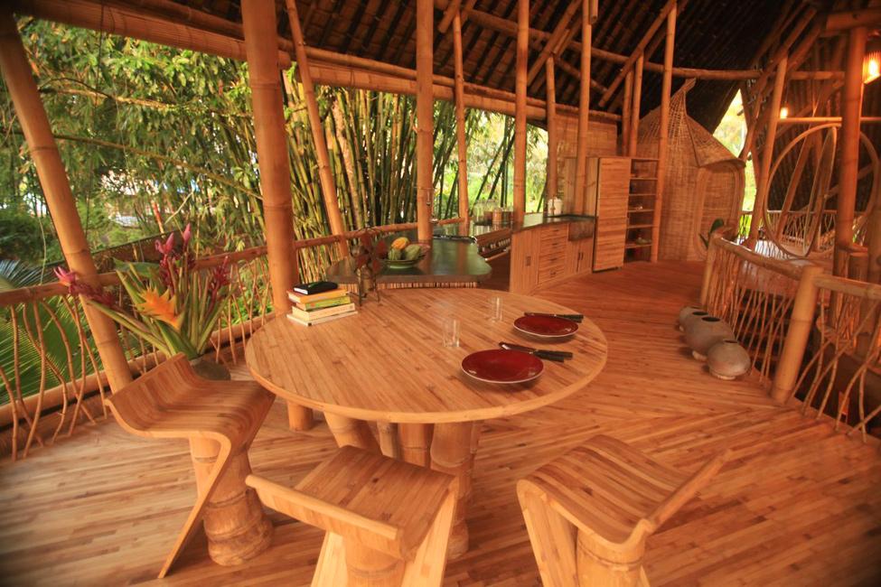 bambukoviotel 8 Бамбуковый отель на Бали