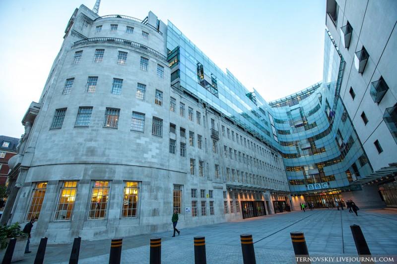 Новое здание BBC в Лондоне за 1 миллиард фунтов!