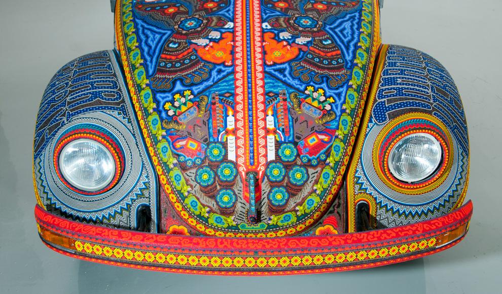 beads03 Единственный в своем роде автомобиль, покрытый бисером