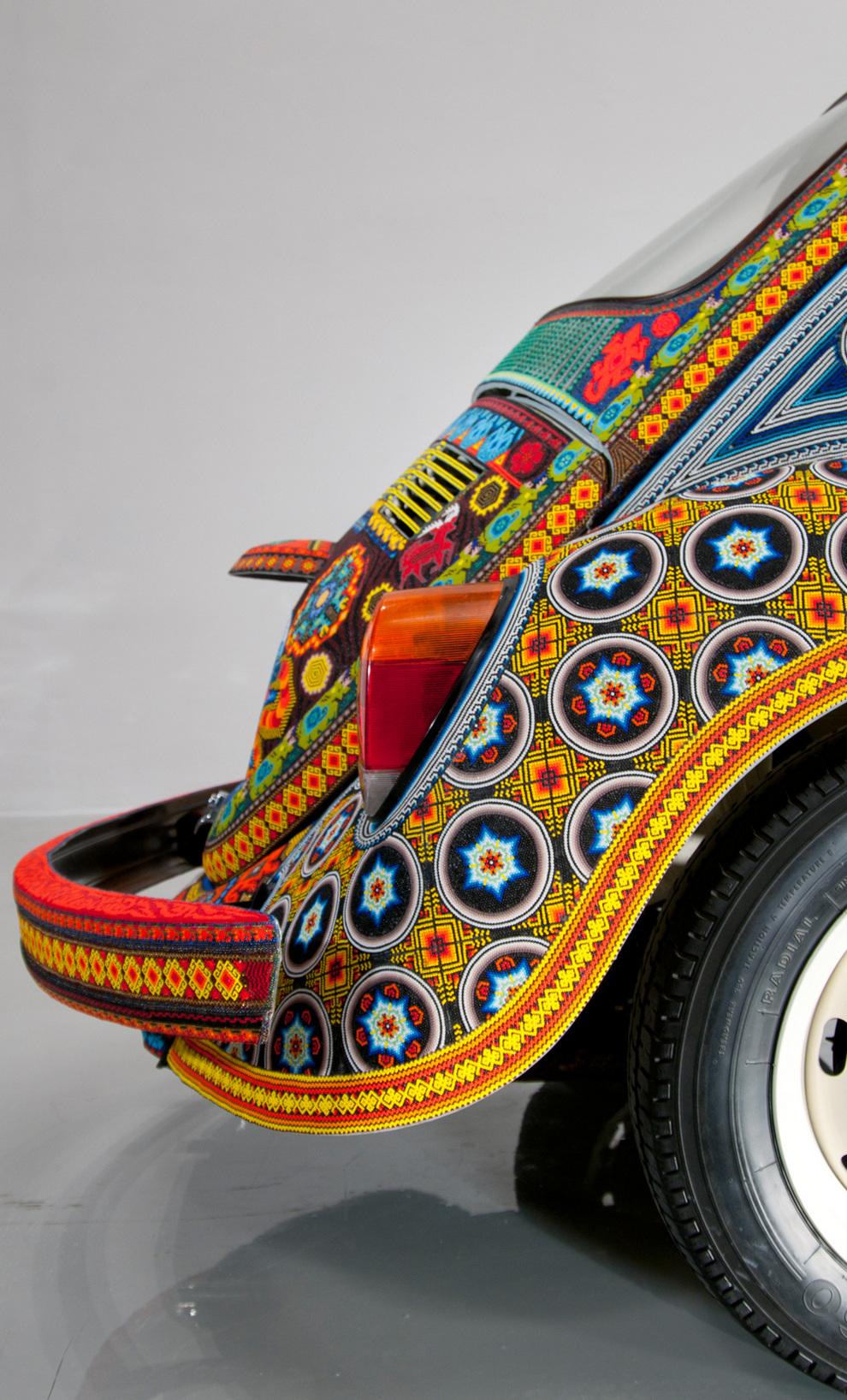beads06 Единственный в своем роде автомобиль, покрытый бисером