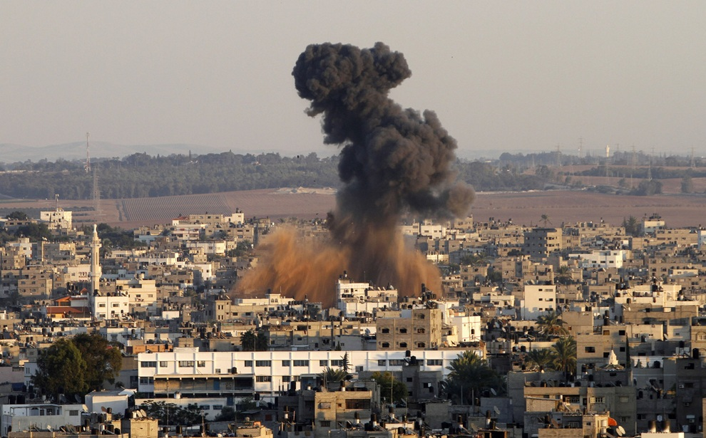 gaza01 Эскалация конфликта в секторе Газа