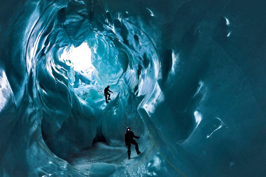 gorner 2 Ледяные пещеры ледника Горнер