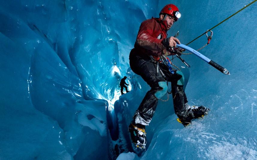 gorner 3 Ледяные пещеры ледника Горнер