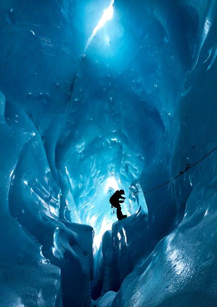 gorner 4 Ледяные пещеры ледника Горнер