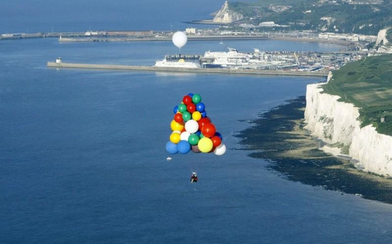 На воздушных шарах через Атлантический океан