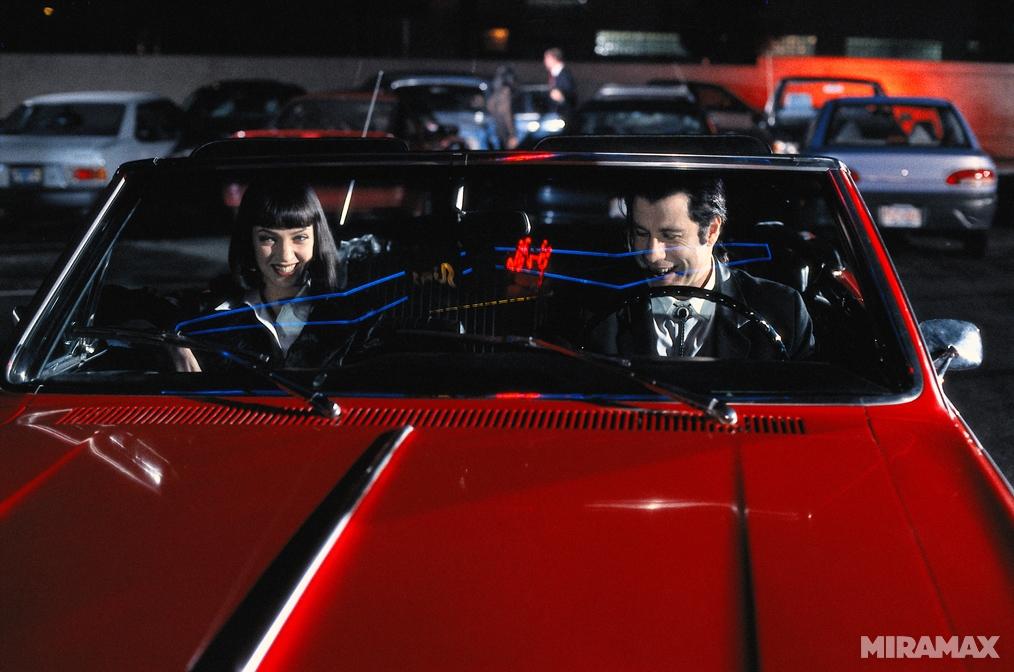 """В Калифорнии нашли украденный 19 лет назад кабриолет из  """"Криминального чтива """" ."""
