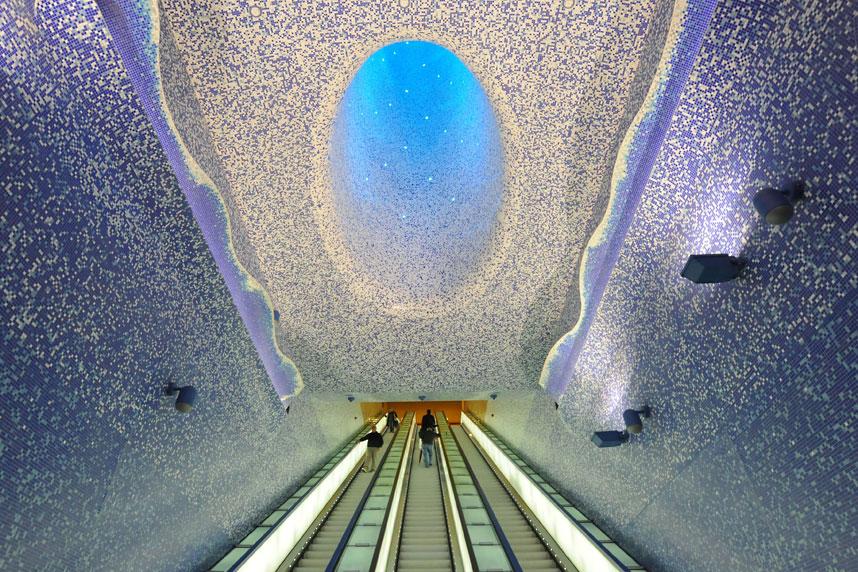 metrostations 1 Самые впечатляющие станции метро в Европе