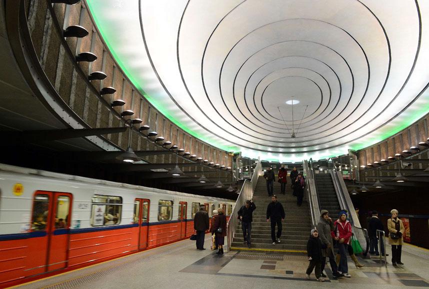 metrostations 12 Самые впечатляющие станции метро в Европе
