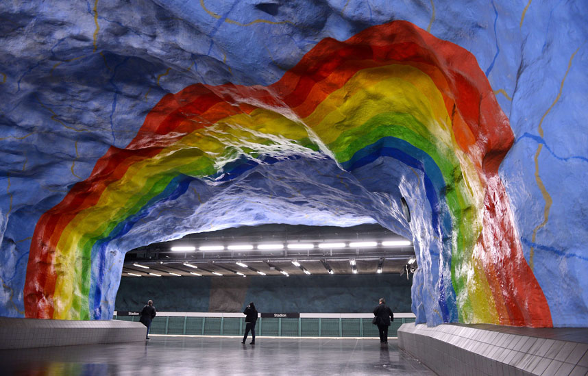 metrostations 13 Самые впечатляющие станции метро в Европе
