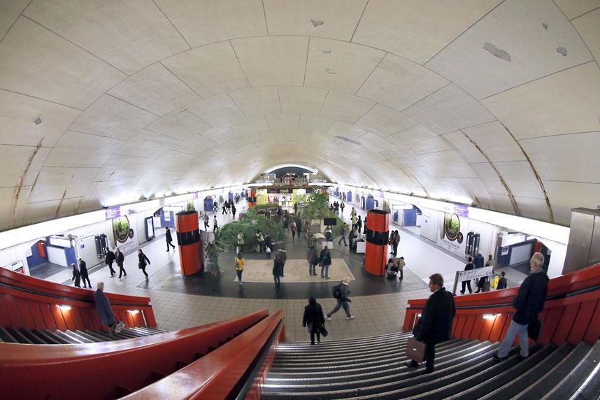 metrostations 14 Самые впечатляющие станции метро в Европе