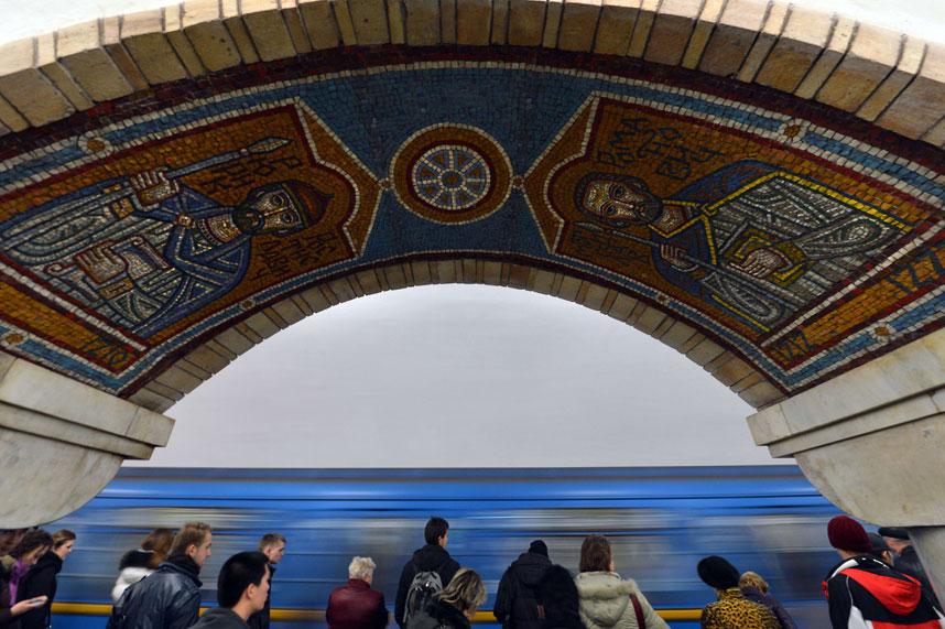 metrostations 15 Самые впечатляющие станции метро в Европе