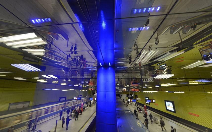 metrostations 17 Самые впечатляющие станции метро в Европе