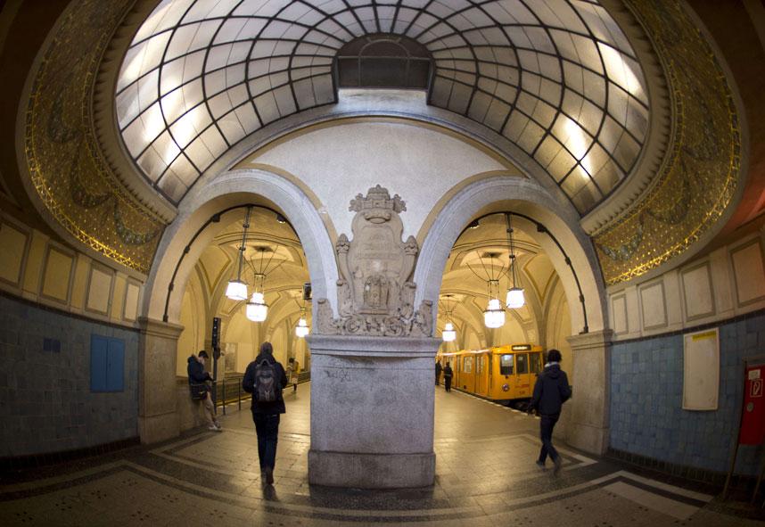 metrostations 19 Самые впечатляющие станции метро в Европе