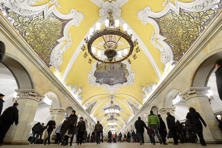 metrostations 2 Самые впечатляющие станции метро в Европе
