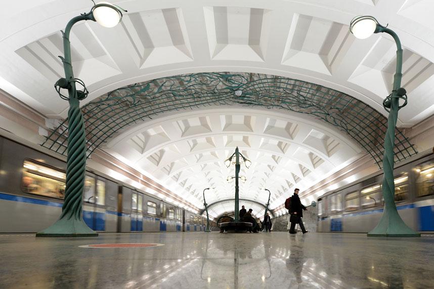 metrostations 20 Самые впечатляющие станции метро в Европе