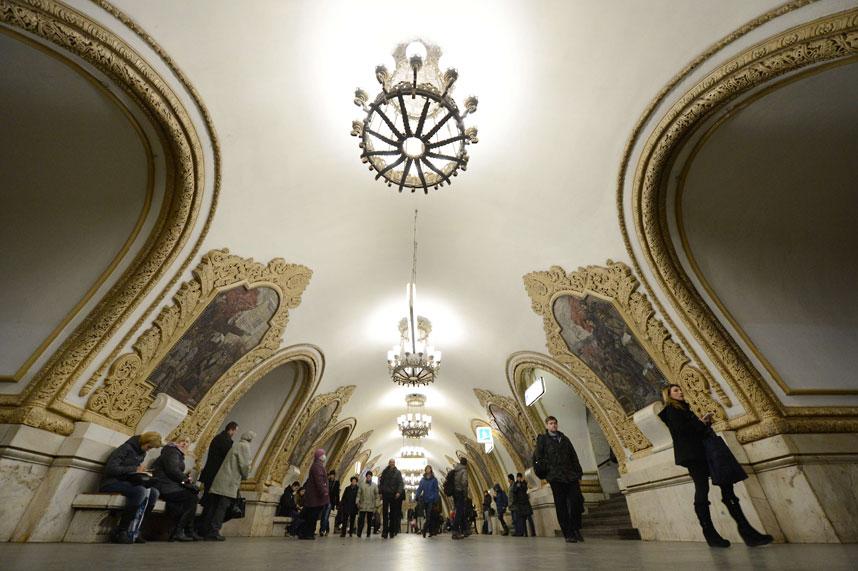 metrostations 21 Самые впечатляющие станции метро в Европе