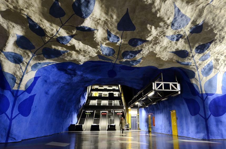 metrostations 22 Самые впечатляющие станции метро в Европе