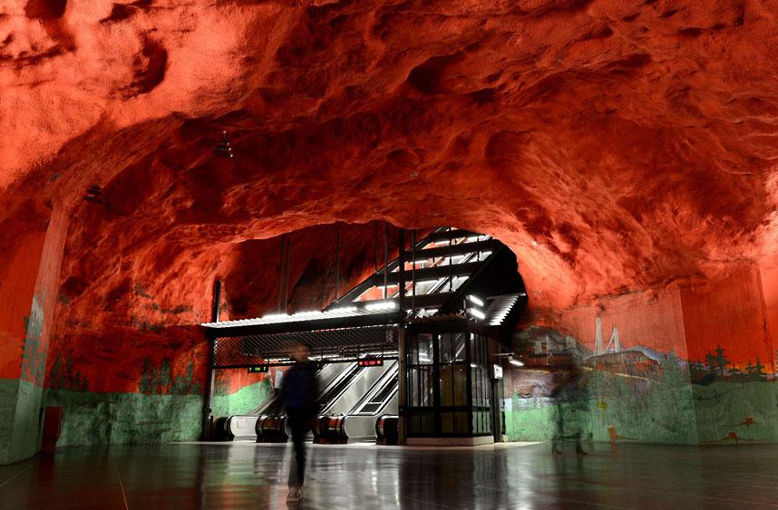 metrostations 3 Самые впечатляющие станции метро в Европе