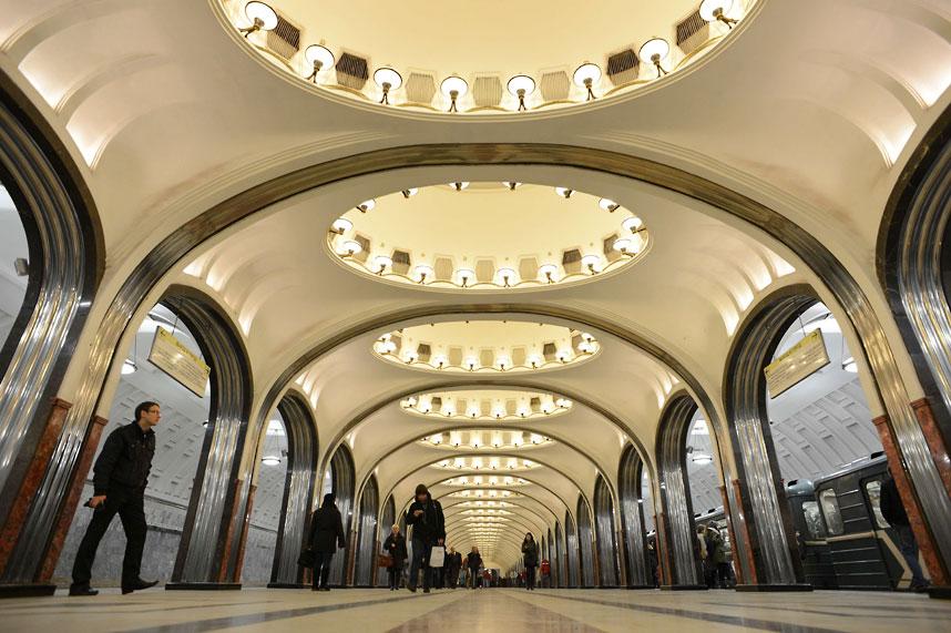 metrostations 8 Самые впечатляющие станции метро в Европе
