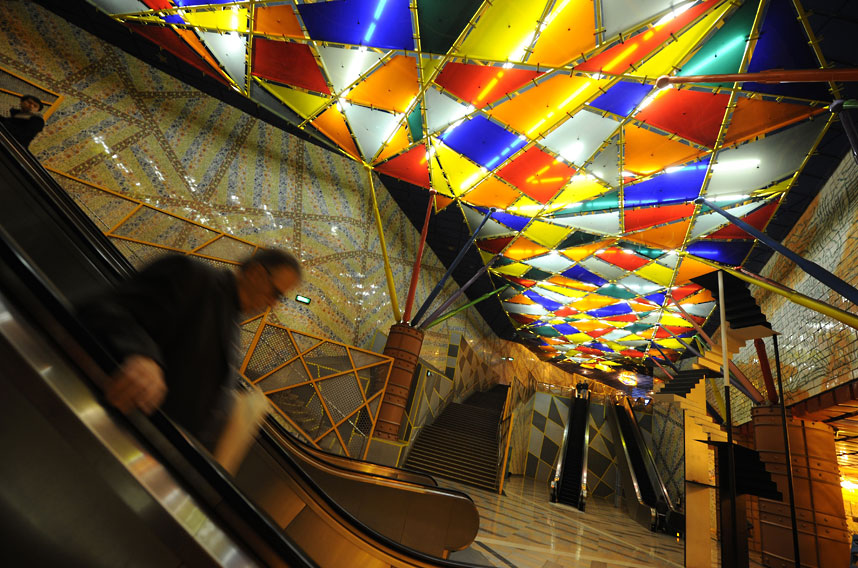 metrostations 9 Самые впечатляющие станции метро в Европе