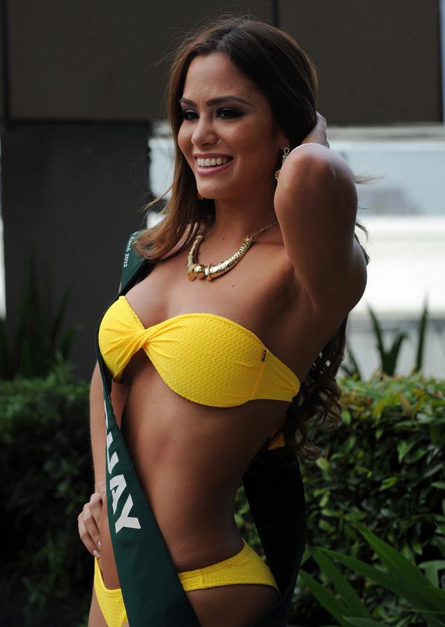 misszemlya2012 12 Горячие участницы конкурса красоты «Мисс Земля 2012» в купальниках