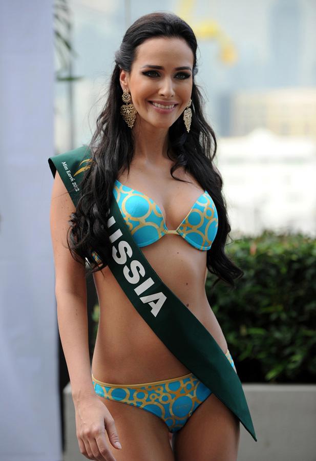 misszemlya2012 14 Горячие участницы конкурса красоты «Мисс Земля 2012» в купальниках