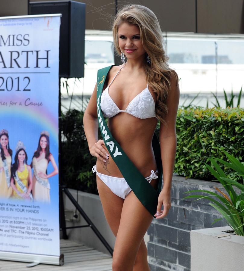 misszemlya2012 27 Горячие участницы конкурса красоты «Мисс Земля 2012» в купальниках